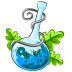 72x72px size png icon of Poison blue
