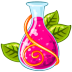 72x72px size png icon of Poison red