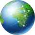 72x72px size png icon of Global Network