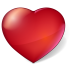72x72px size png icon of Heart