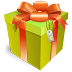 72x72px size png icon of gift box