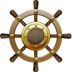 72x72px size png icon of Nautilus Ship Steering Wheel