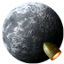 72x72px size png icon of Rocket Moon