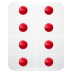 72x72px size png icon of pills strips