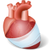 72x72px size png icon of Body Heart Injury