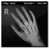 72x72px size png icon of Documents X Ray Hand