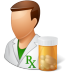 72x72px size png icon of People Pharmacist Male