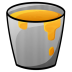 72x72px size png icon of Bucket Lava
