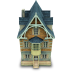 72x72px size png icon of Old House