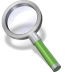 72x72px size png icon of search green