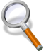 72x72px size png icon of search orange