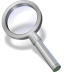 72x72px size png icon of search silver