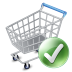 72x72px size png icon of shop cart apply