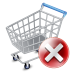 72x72px size png icon of shop cart exclude