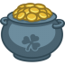 72x72px size png icon of pot of gold