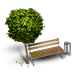 72x72px size png icon of Bench