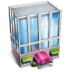 72x72px size png icon of Building