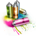 72x72px size png icon of Spray