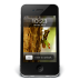 72x72px size png icon of iPhone Black W1