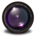 72x72px size png icon of Aperture 3 Authentic Purple