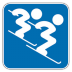 72x72px size png icon of Alpine Skiing 3
