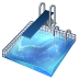 72x72px size png icon of diving
