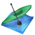 72x72px size png icon of kayak sprint