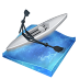 72x72px size png icon of rowing