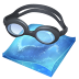72x72px size png icon of swimming
