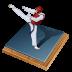72x72px size png icon of taekwondo