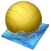 72x72px size png icon of waterpolo