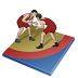 72x72px size png icon of wrestling freestyle