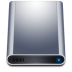 72x72px size png icon of disk hd dark
