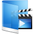 72x72px size png icon of folder blue videos