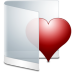 72x72px size png icon of folder white favorite