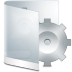 72x72px size png icon of folder white system
