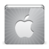 72x72px size png icon of social apple