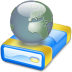72x72px size png icon of Net drive Offline