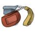72x72px size png icon of Lanyard
