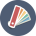 72x72px size png icon of swatches