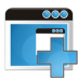 72x72px size png icon of application add