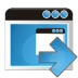 72x72px size png icon of application arrow right
