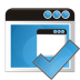 72x72px size png icon of application check