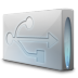 72x72px size png icon of Drive usb