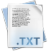 72x72px size png icon of Filetype txt