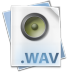 72x72px size png icon of Filetype wav