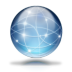 72x72px size png icon of Network globe