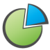 72x72px size png icon of Chart Pie