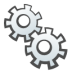 72x72px size png icon of Gears