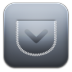 72x72px size png icon of Pocket alt